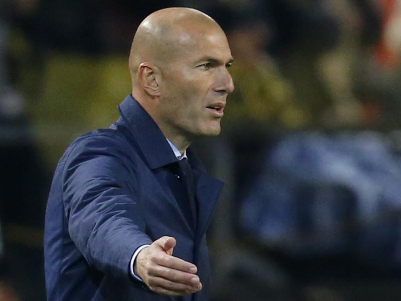 Zinedine Zidane, kouč Realu Madrid