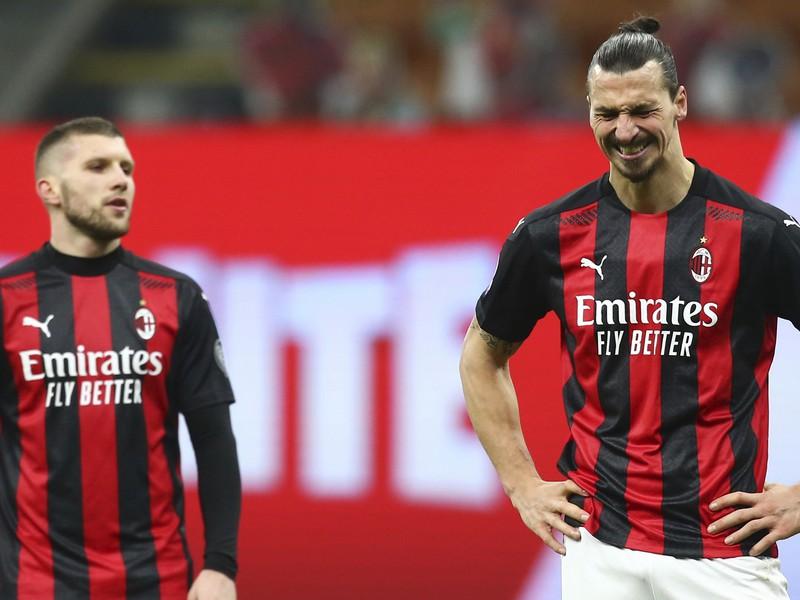 Zlatan Ibrahimovič po prehre s Atalantou Bergamo