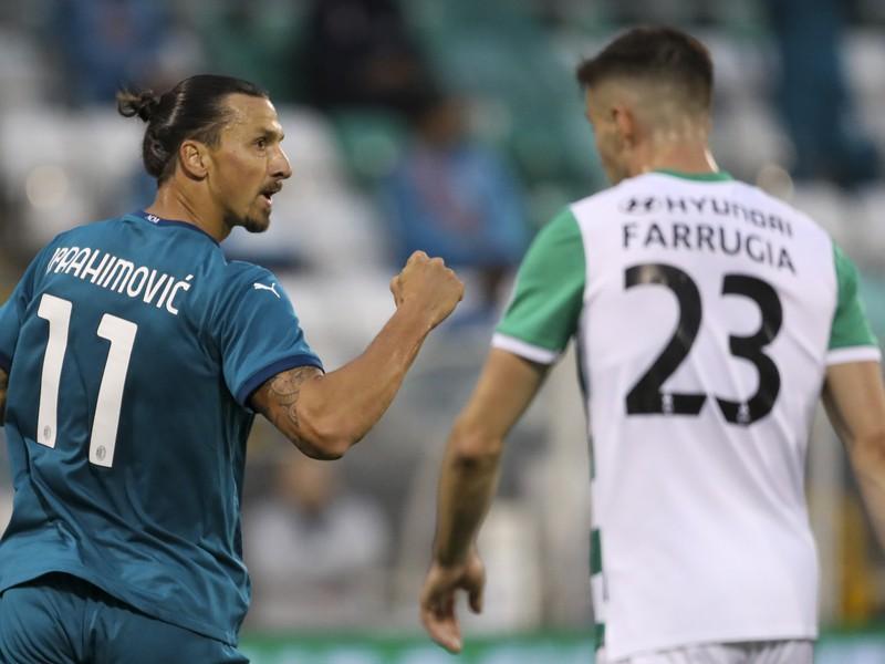 Zlatan Ibrahimovič a jeho gólové oslavy