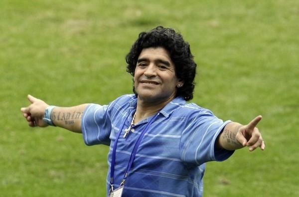 Božský Diego mal taktiež