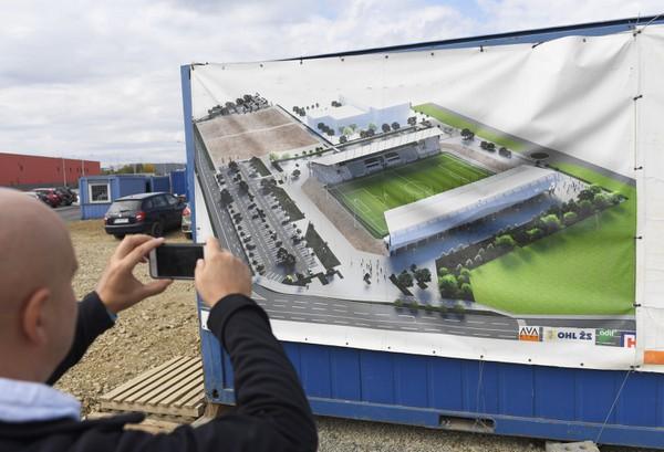 Vizualizácia Košickej futbalovej arény