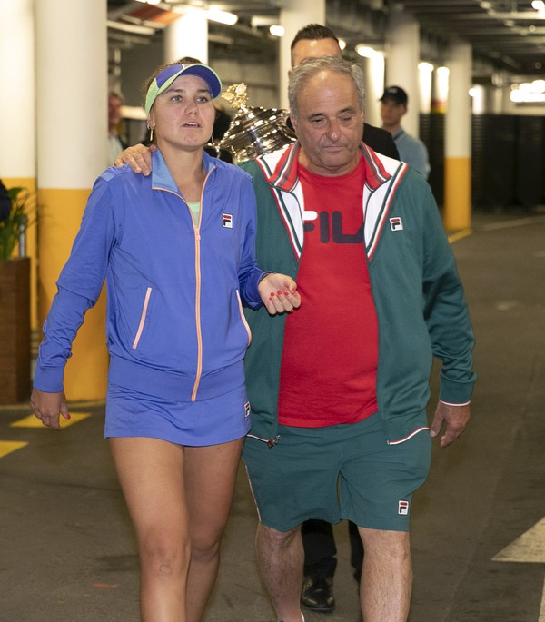 Americká tenistka Sofia Keninová