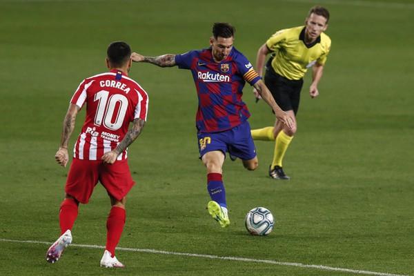 Lionel Messi a Ángel