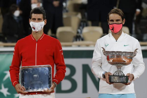 Rafael Nadal a Novak