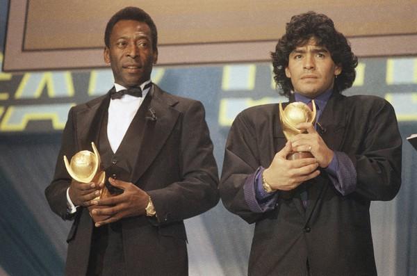 Legendárna dvojica Pelé a