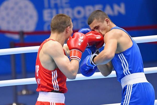 Slovenský boxer Andrej Csemez