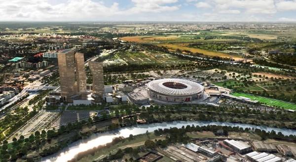 Nový štadión AS Rím