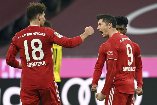 Robert Lewandowski a jeho