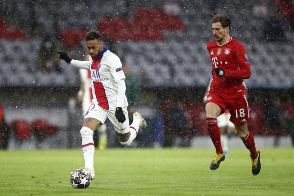 Neymar (vľavo) z PSG