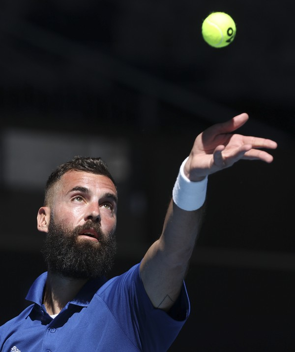 Francúzsky tenista Benoit Paire