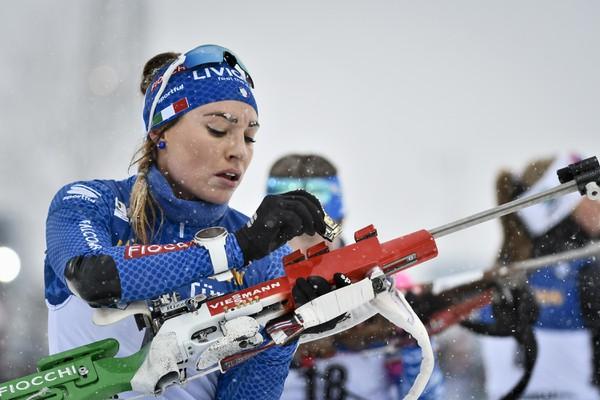 Talianska biatlonistka Dorothea Wiererová