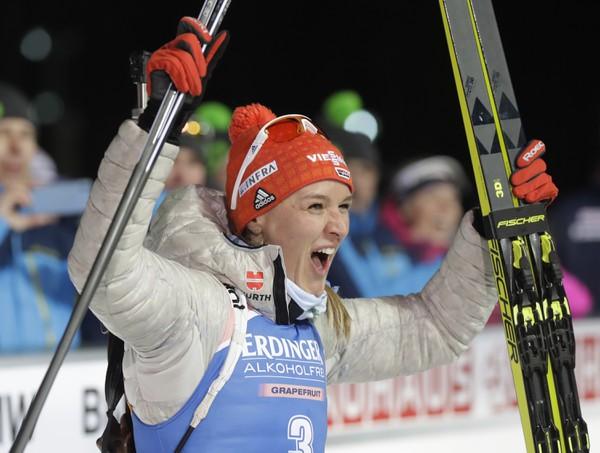 Nemecká biatlonistka Denise Hermannová