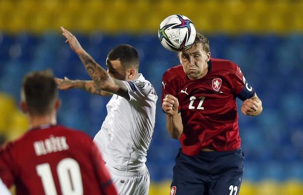 Český futbalista Tomáš Souček