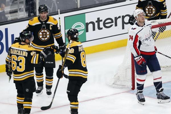 Radosť hokejistov Bostonu