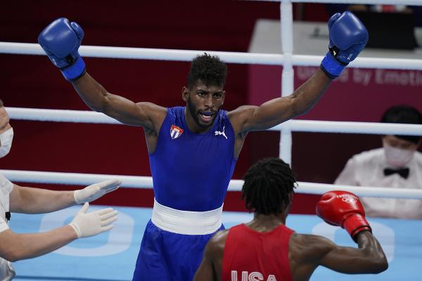 Kubánsky boxer Andy Cruz