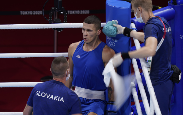 Slovenský boxer Andrej
