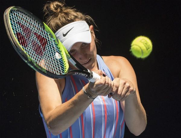 Na snímke česká tenistka
