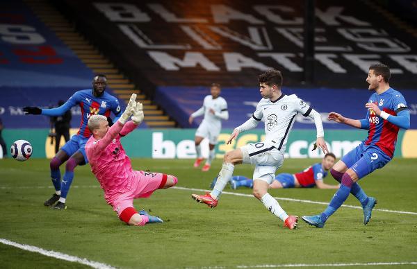 Christian Pulišič strieľa gól