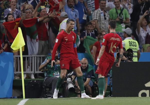 Cristiano Ronaldo a Bruno