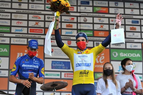 Kolumbijský cyklista Álvaro Hodeg