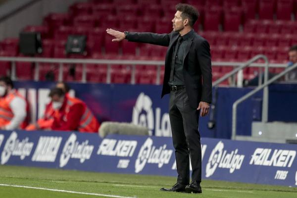 Tréner Diego Simeone