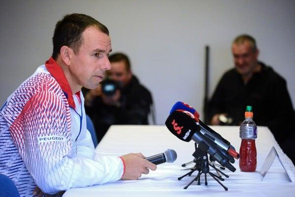 Dominik Hrbatý, nehrajúci kapitán