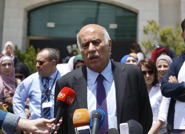 Šéf palestínskeho zväzu Džibríl