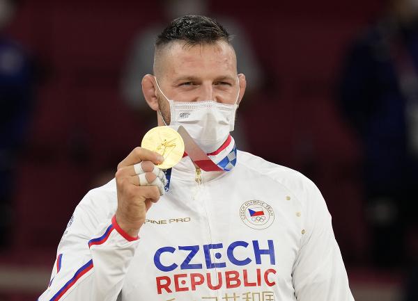 Český džudista Lukáš Krpálek