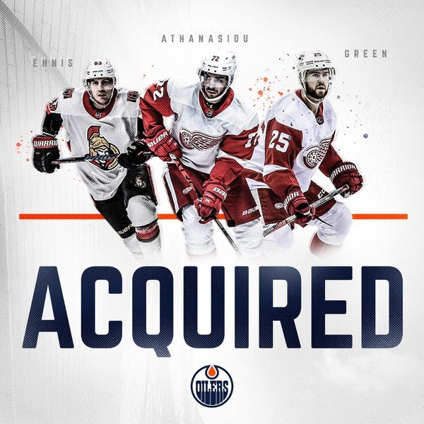 Edmonton Oilers sa výrazne