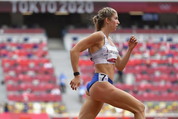 Na snímke slovenská atlétka
