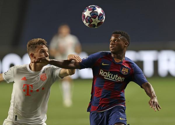 Mladá hviezda Barcelony Ansu