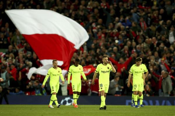Sklamaní hráči Barcelony