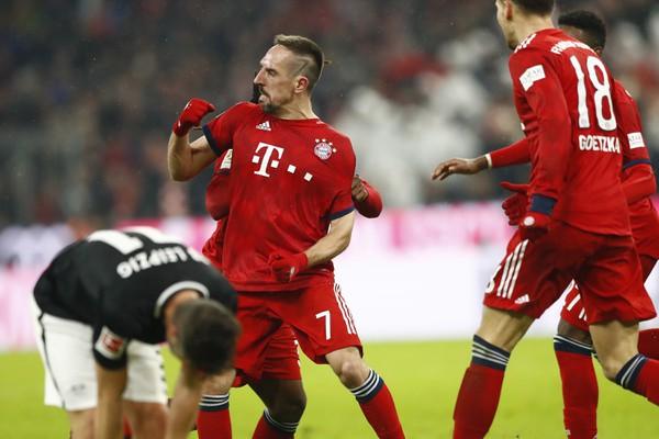 Franck Ribéry a jeho