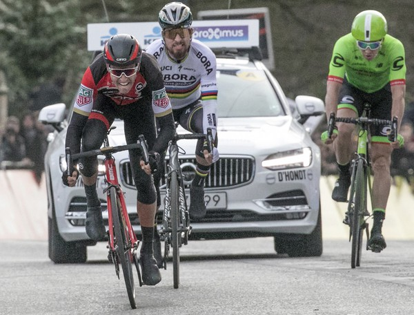 Belgický cyklista tímu BMC