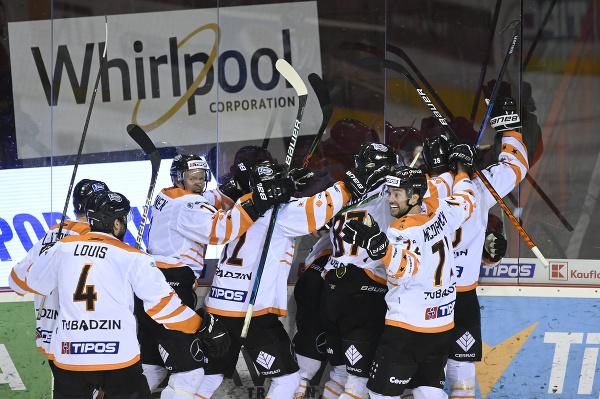 Hokejisti Michaloviec sa tešia