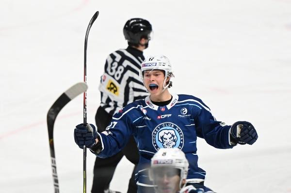 Radosť hráča Nitry Daniila