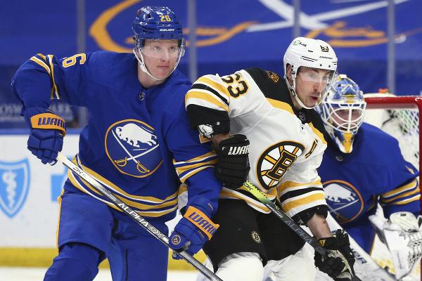 Boston prehral s Buffalom