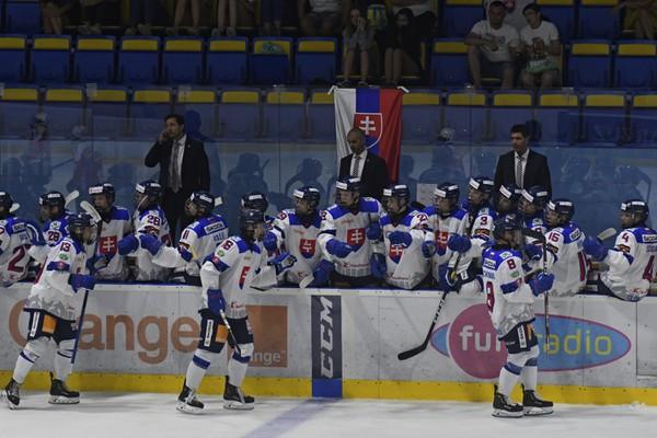 Slovenskí hokejisti na Hlinka-Gretzky
