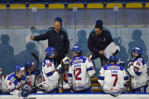 Tréner slovenských hokejistov do