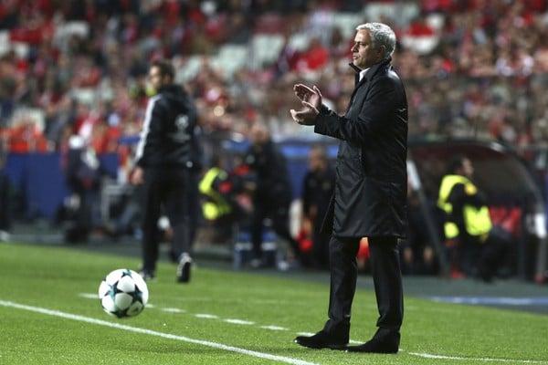 Tréner Manchesteru United José