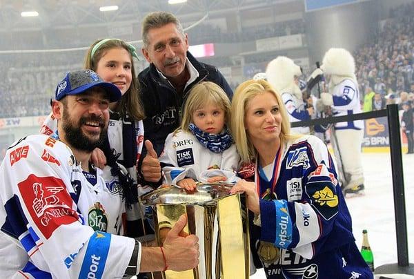 Jozef Kováčik s rodinou