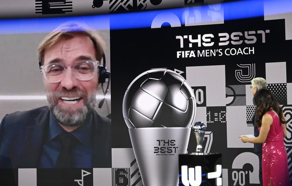 Na snímke tréner Liverpoolu