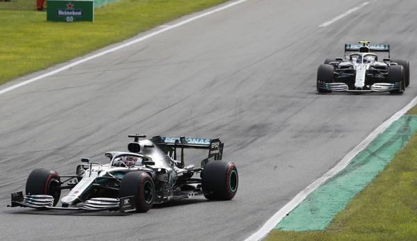 Lewis Hamilton a Valtteri
