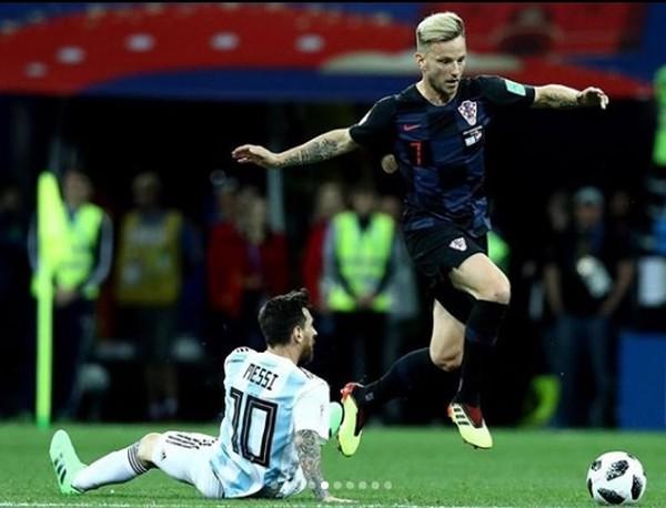Lionel Messi a Ivan