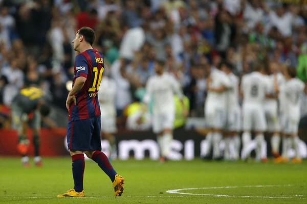 Lionel Messi počas El