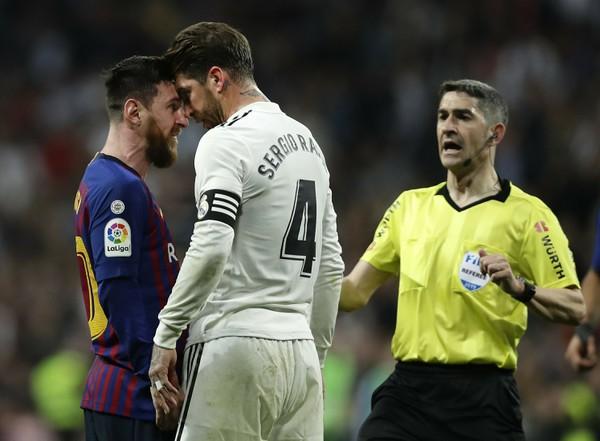Lionel Messi verzus Sergio