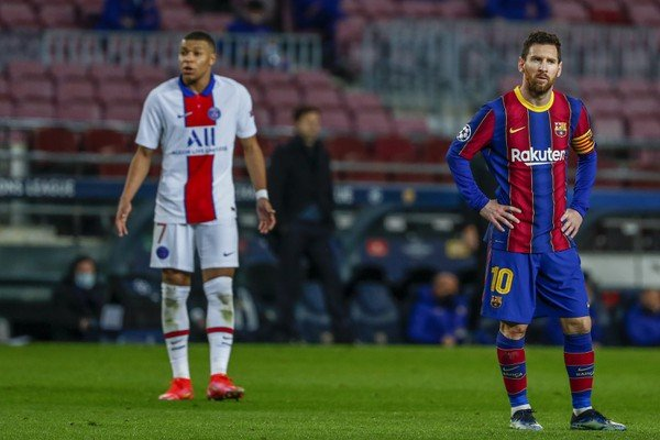 Lionel Messi a Kylian