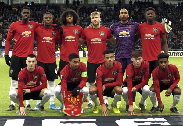 Tímová fotografia Manchestru United