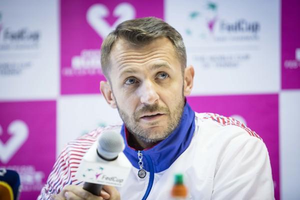 Kapitán fedcupového družstva Matej