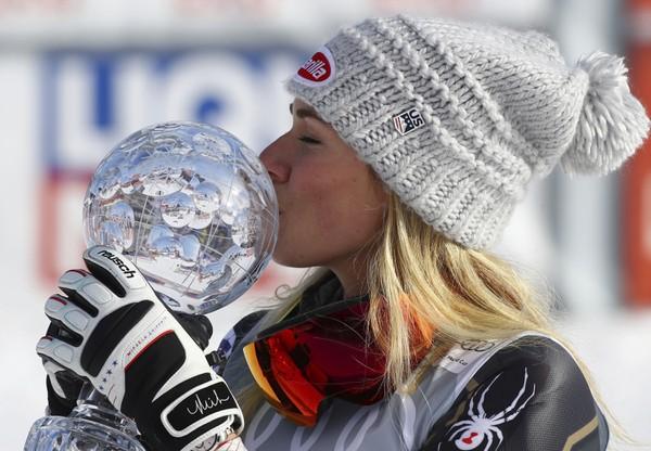 Americká slalomárka Mikaela Shiffrinová